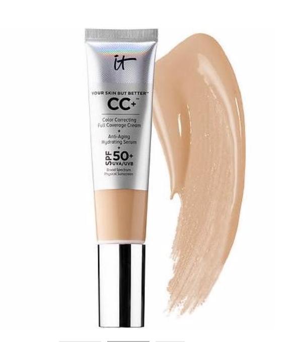 IT Cosmetics CC+ Cream (I get it in medium)