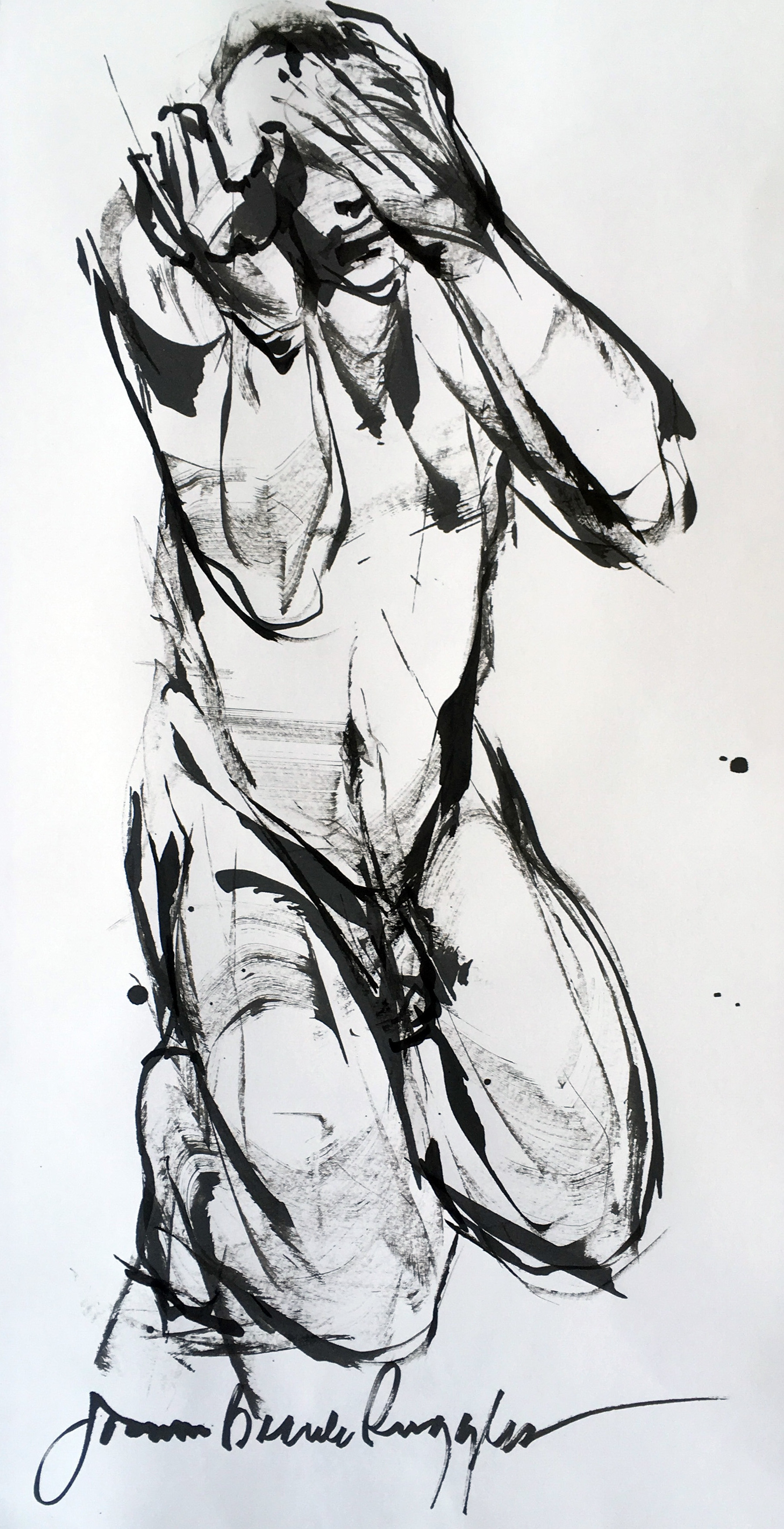 BeauleRuggles_Supplication_26x14%22_InkonPaper_$850.jpg