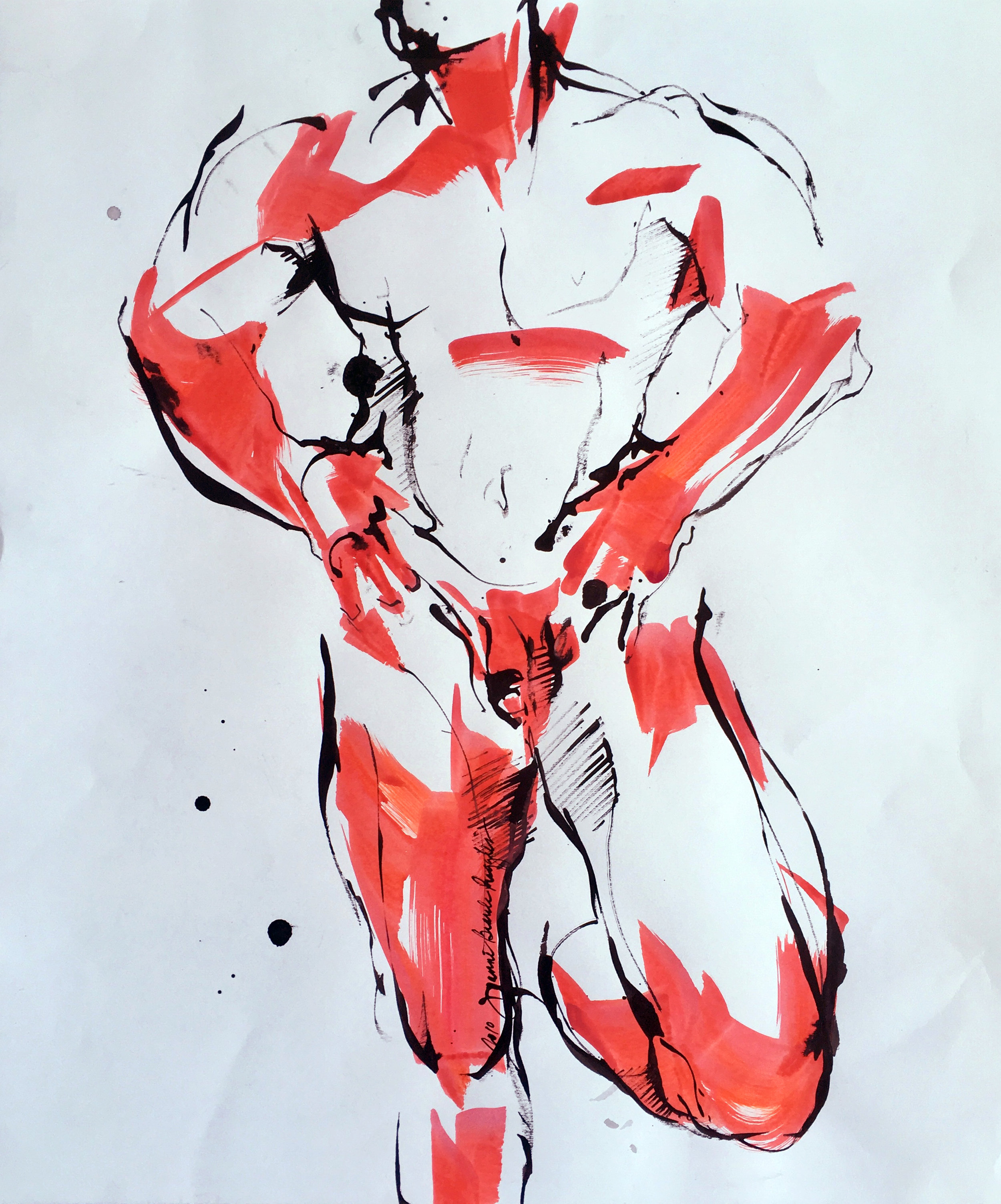 BeauleRuggles_TheJock_26x22%22_Ink& AcryliconPaper_$1000.jpg