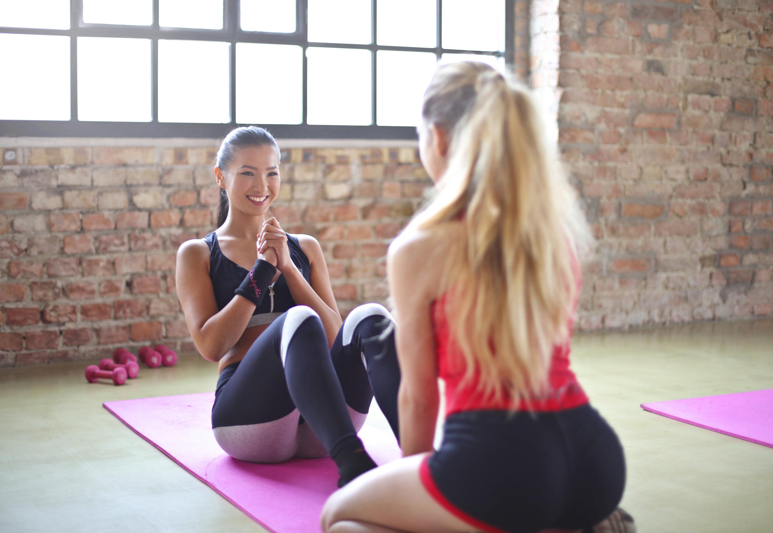 - - Eine große Auswahl an Übungen- Einen Progressionsguide- Tipps und Tricks rund ums Training- Individuelle Beratung & eRKLÄRUNGEN- Fachliches Wissen von unseren Trainern- Gesund und fit zum Ziel