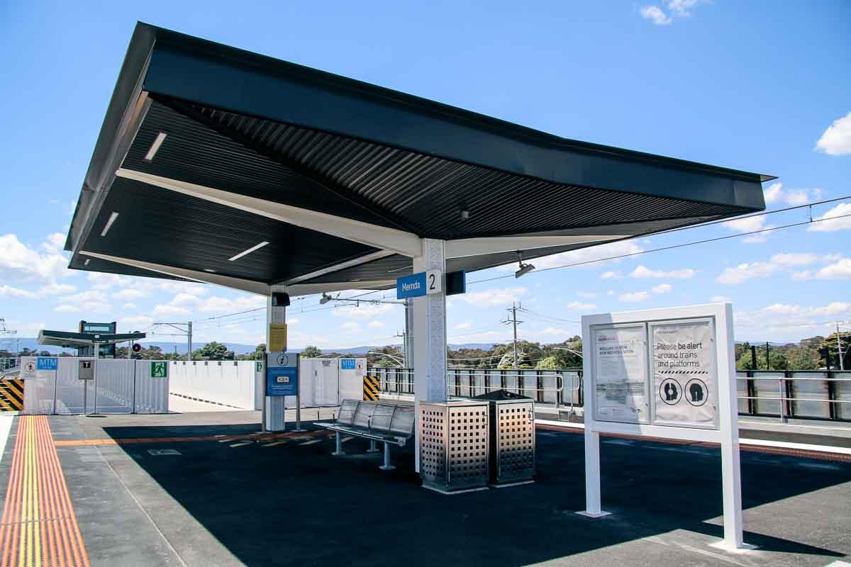 Southern Platform Canopy