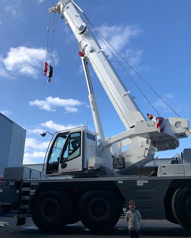 New 60T Crane and Future Operator.