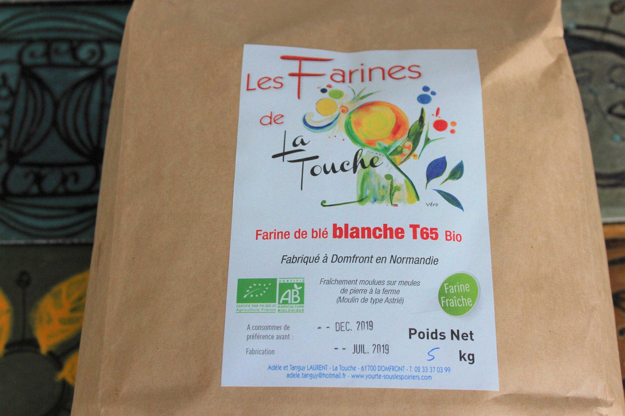 Une farine de Normandie très artisanale mais aux propriétés technologiques exceptionnelles….