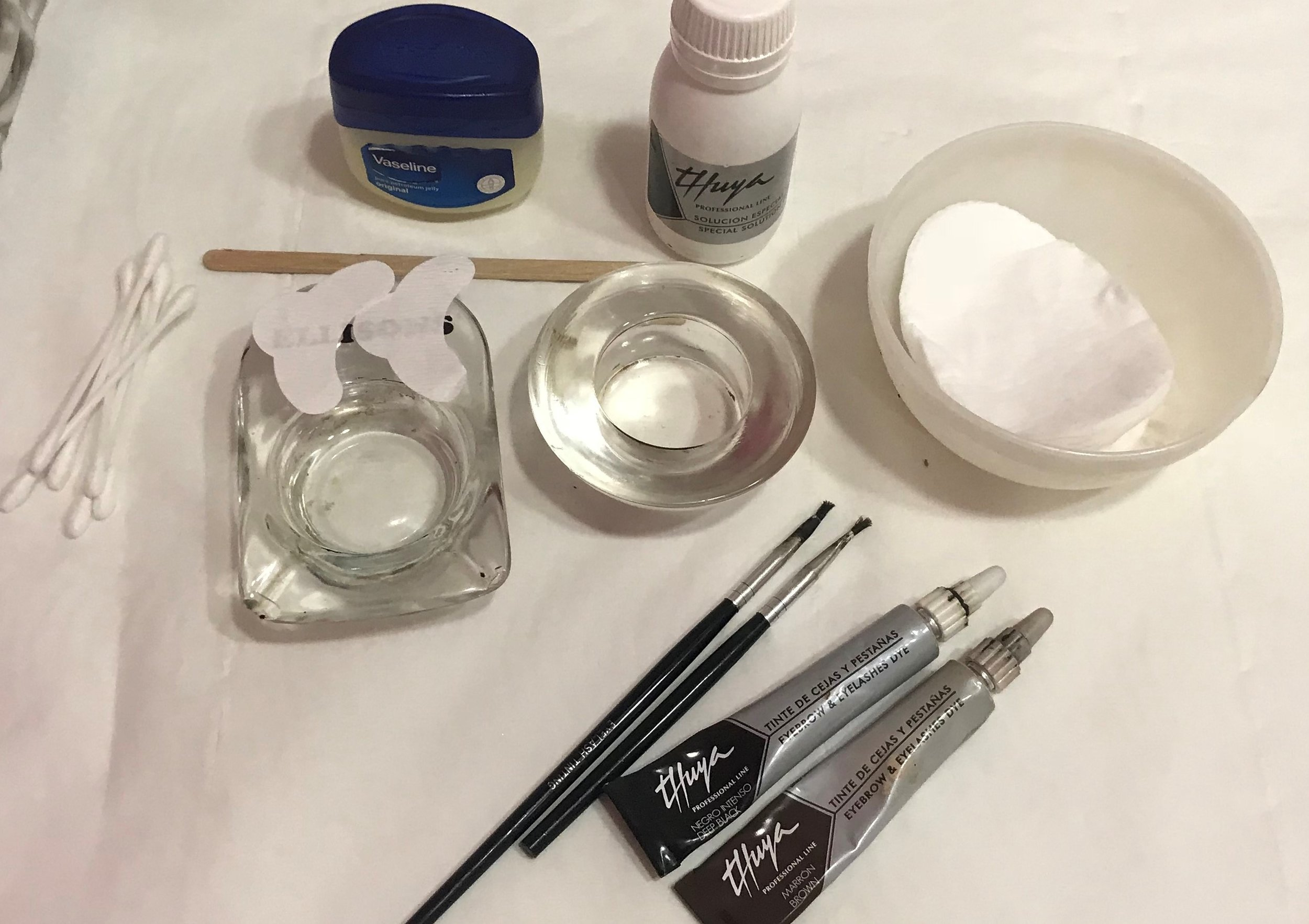 Lash and Brow tint ready