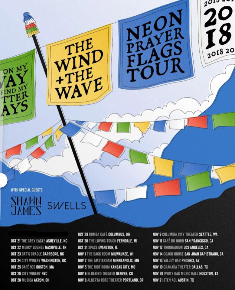 Shawn James Announces Tour with The Wind and the Wave