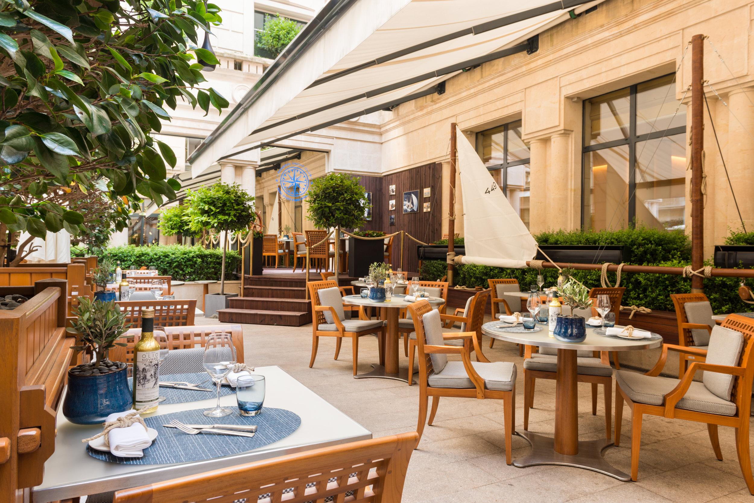 Panerai Terrace - 5* Hotel Park Hyatt Paris-Vendôme