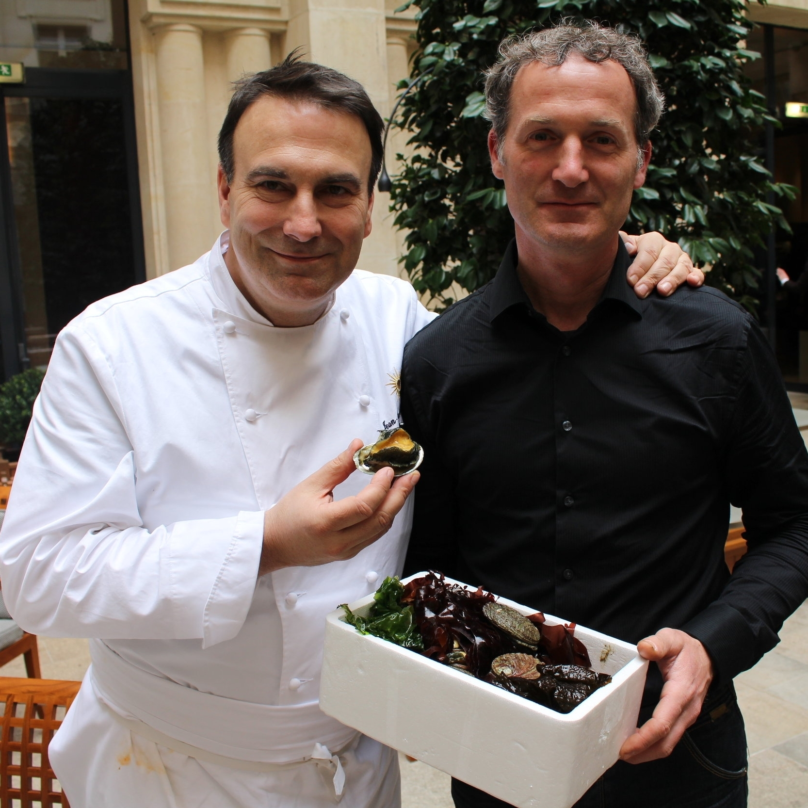 Abalone supplier - Pur'- Jean-François Rouquette - Michelin Star Restaurant in Paris