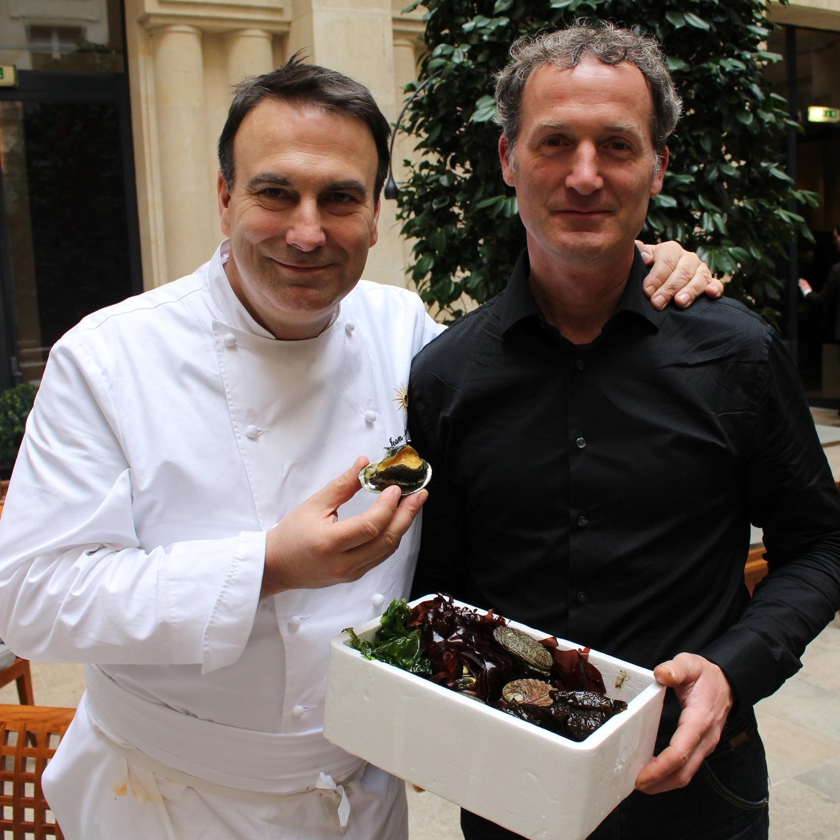 Fournisseur Ormeaux - Pur' - Jean-François Rouquette - Restaurant étoilé Paris 2e