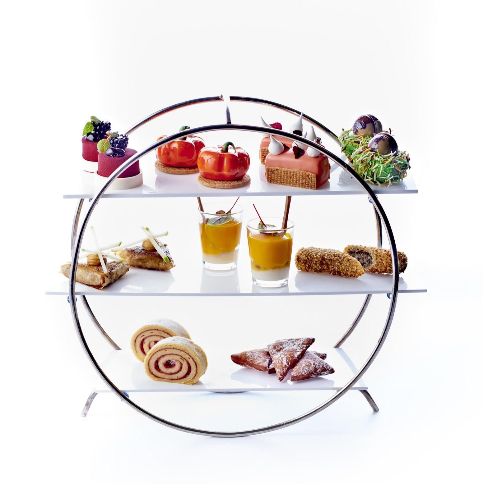 Tea Time Autumn par Jimmy Mornet - Hôtel 5* Park Hyatt Paris-Vendôme