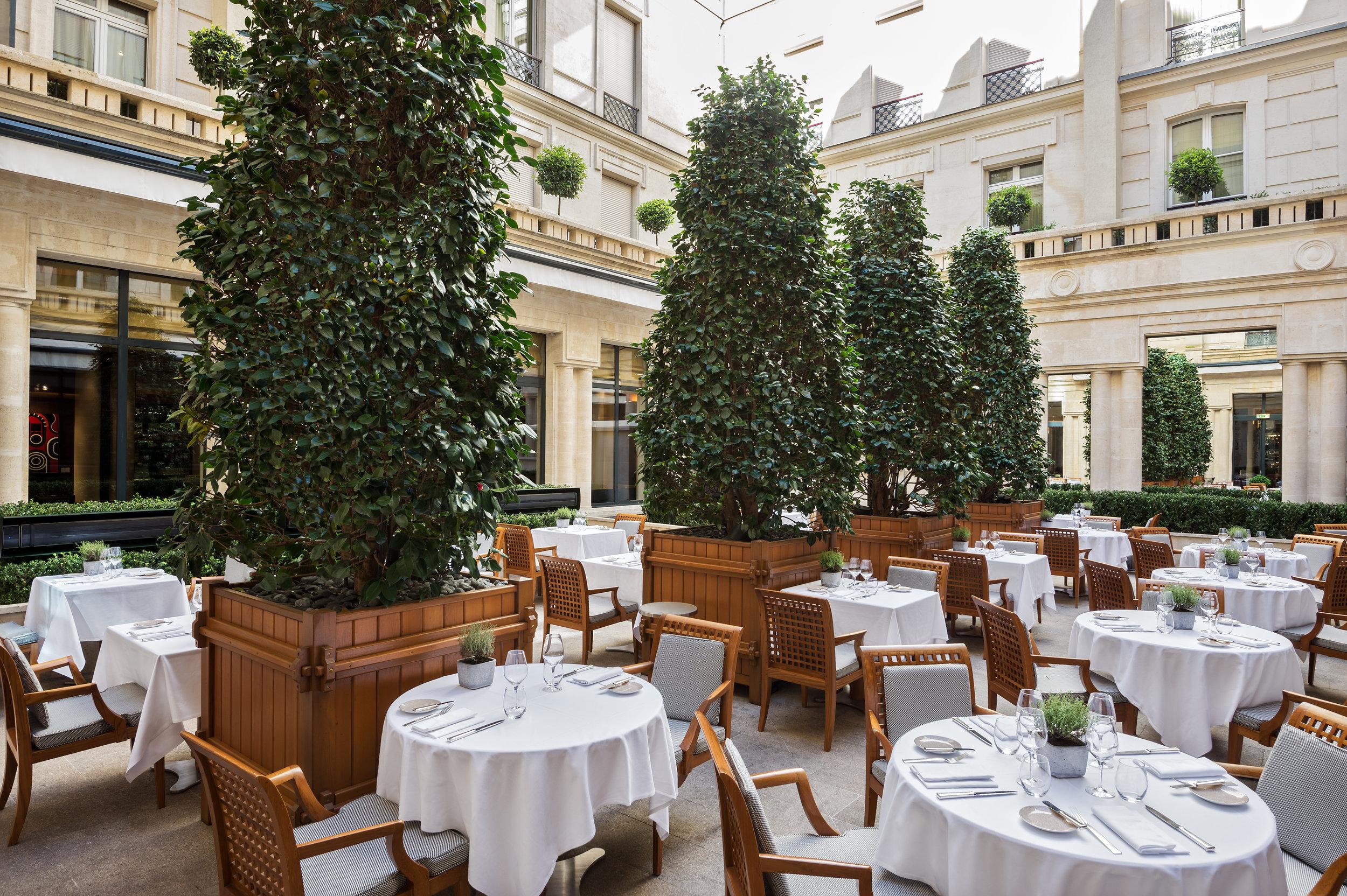 Terrasse Panerai Yacht Club - Park Hyatt Paris-Vendôme