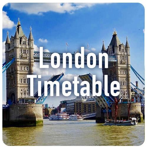 London - 2019/20 dates TBC    London Metropolitan University  84 Moorgate London EC2M 6SQ