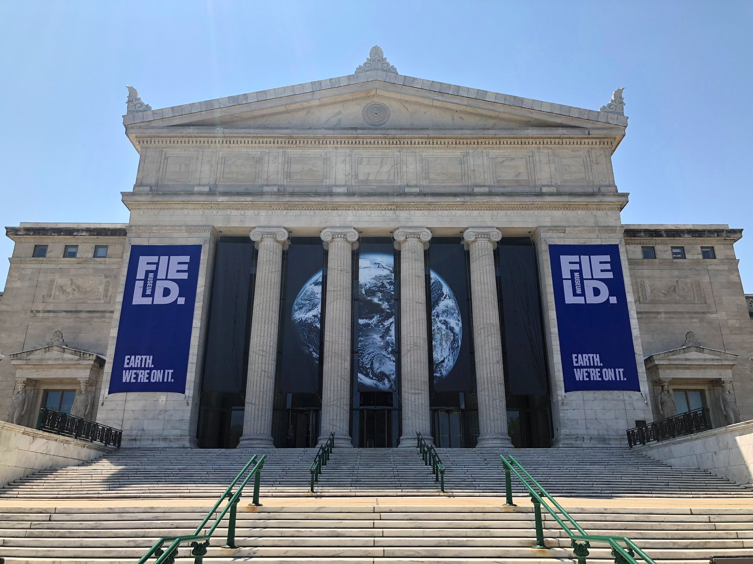 The North Entrance to the Field Museum