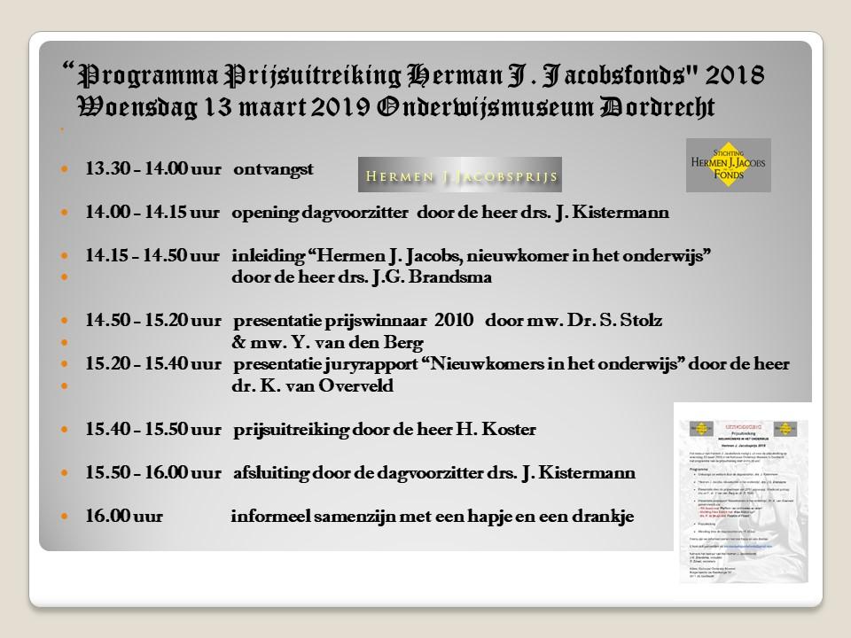 Uitreiking prijsvraag Hermen J Jacobsfonds 2018 13 maart 2019 Dordrecht.jpg