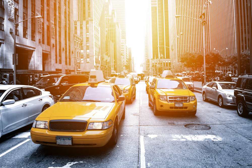 Yellow Cabs i New York