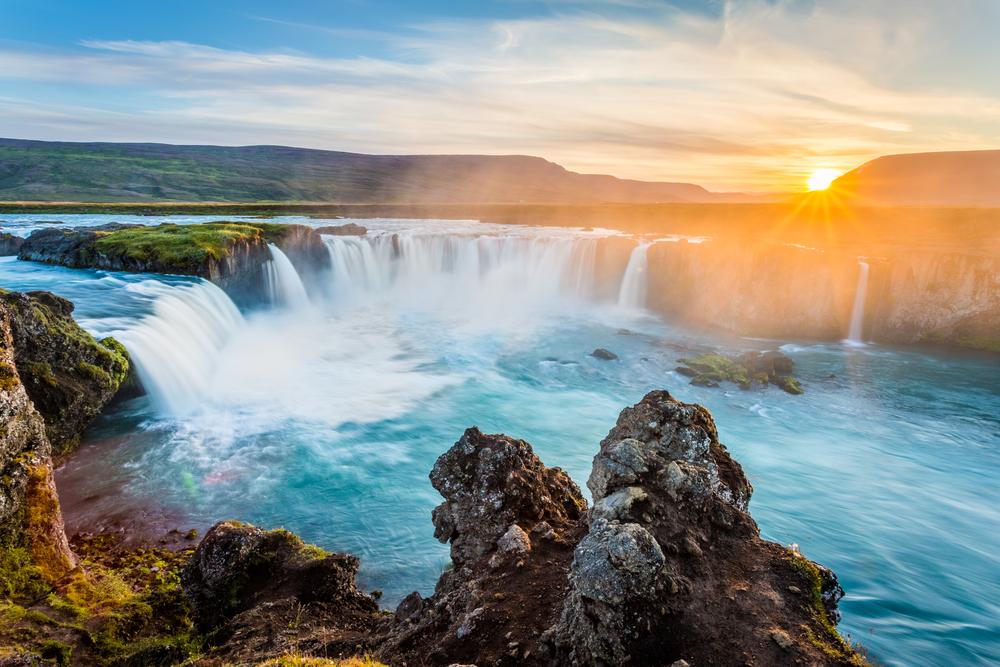 Godafoss ligger nord på Island, og er så vakkert at det nesten gjør vondt.