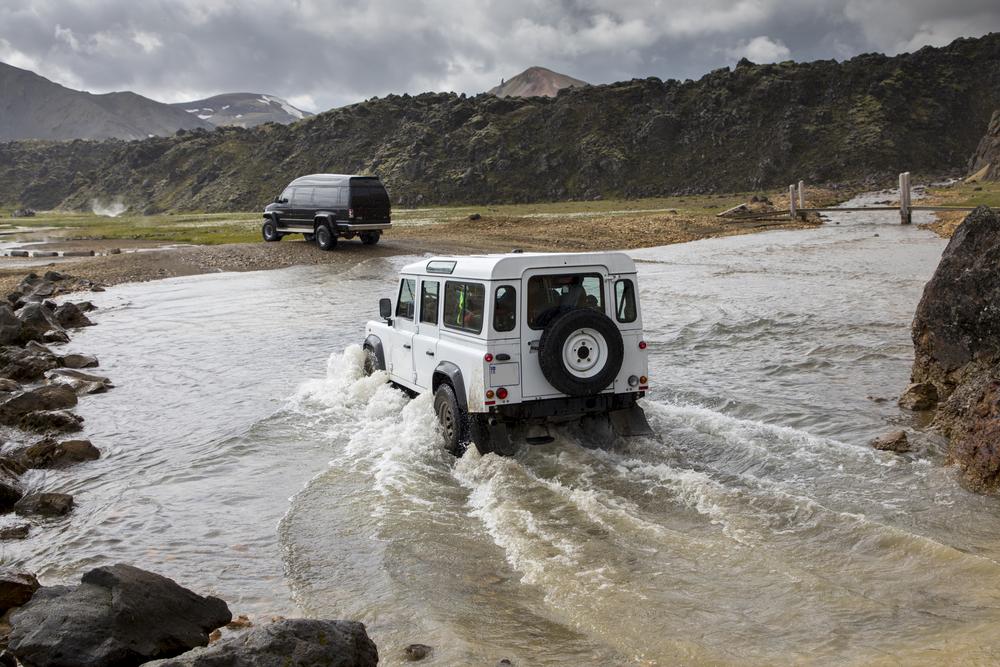 Opplev Island fra en Jeep