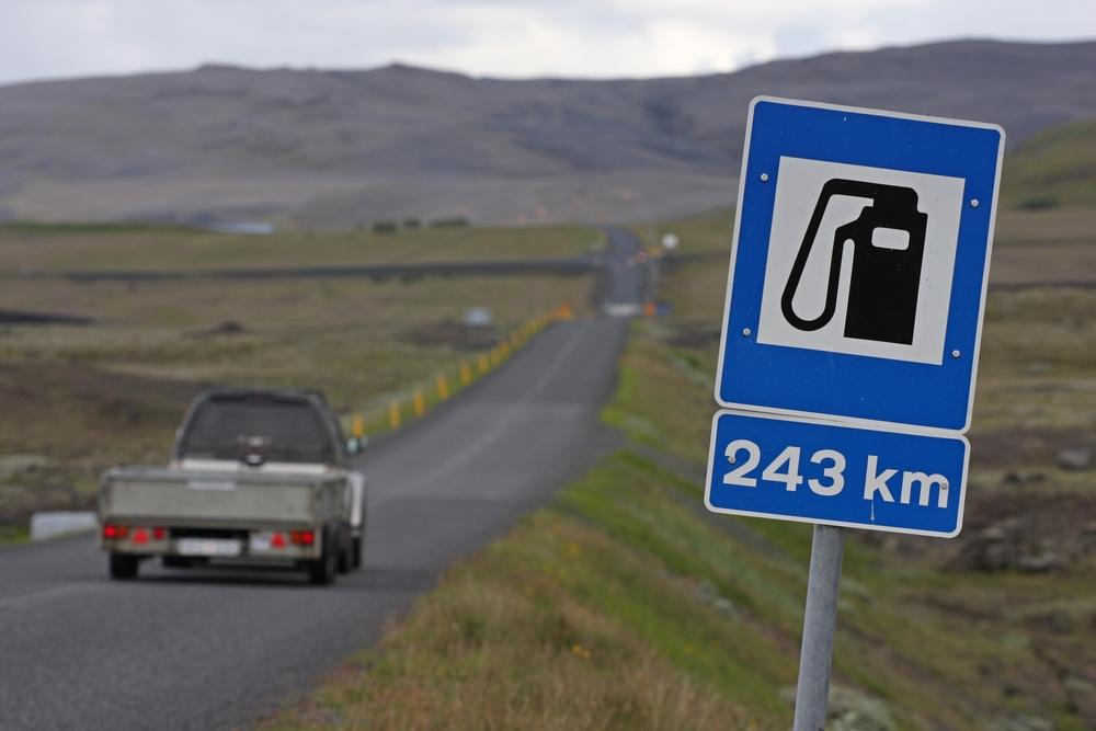 Lang vei til neste bensinstasjon