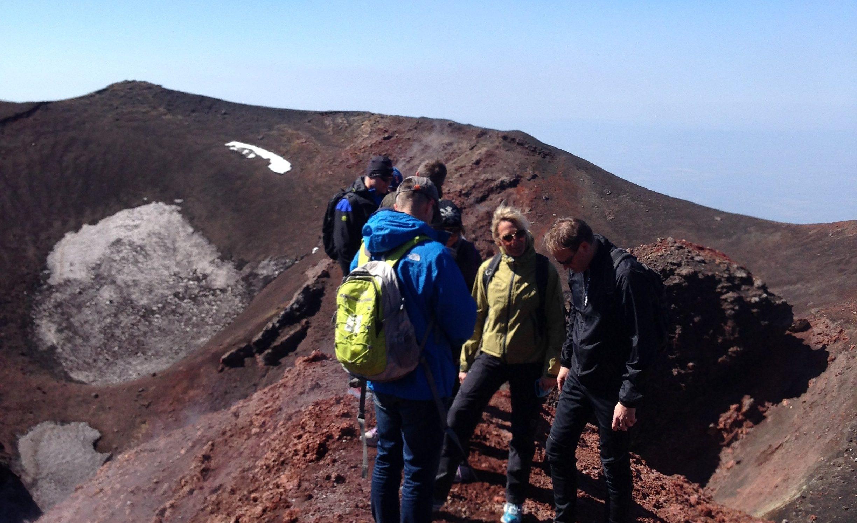 Gjestene får oppleve det vulkanske landskapet