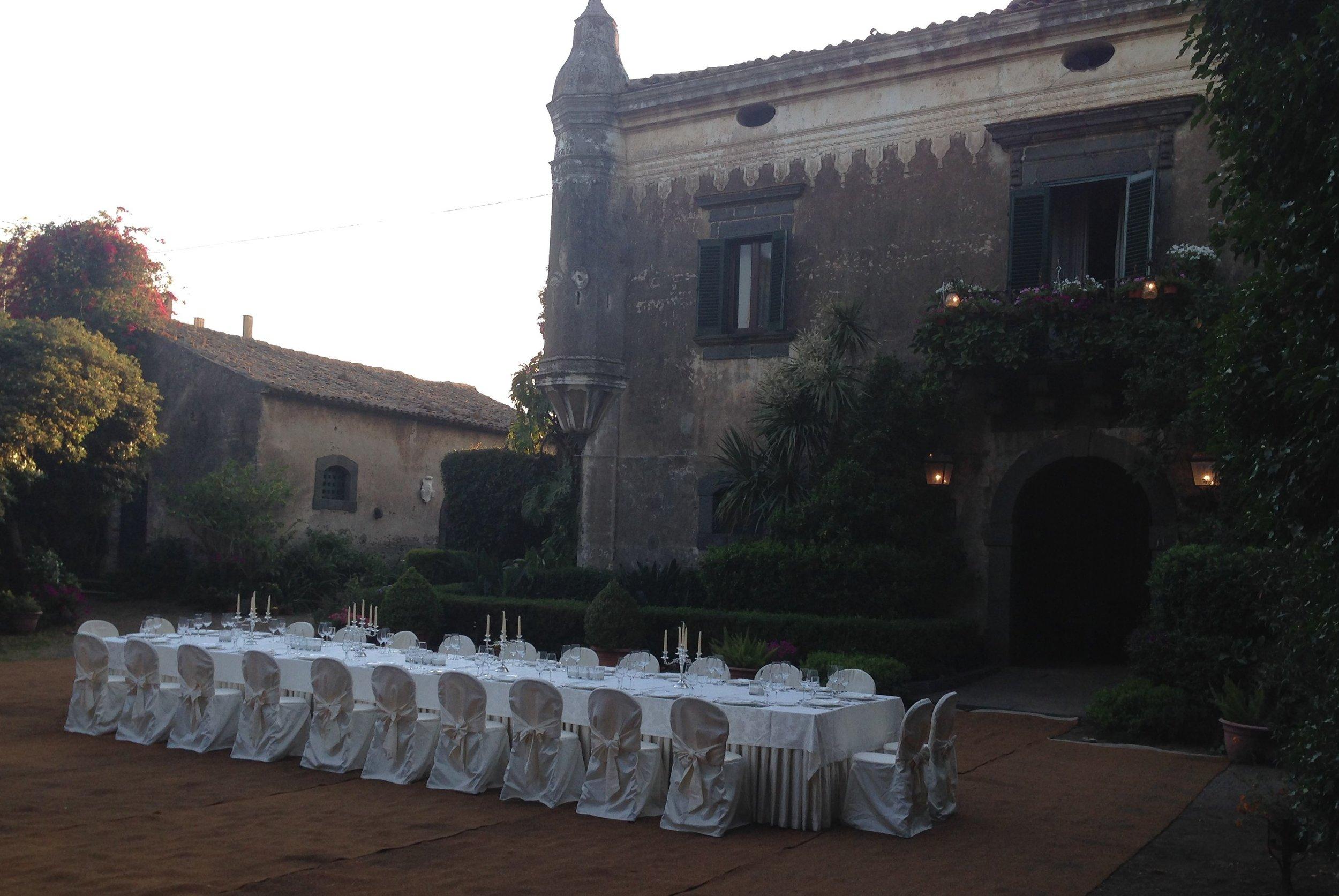 Ikke noe er som Al Fresco dining i spektakulære omgivelser