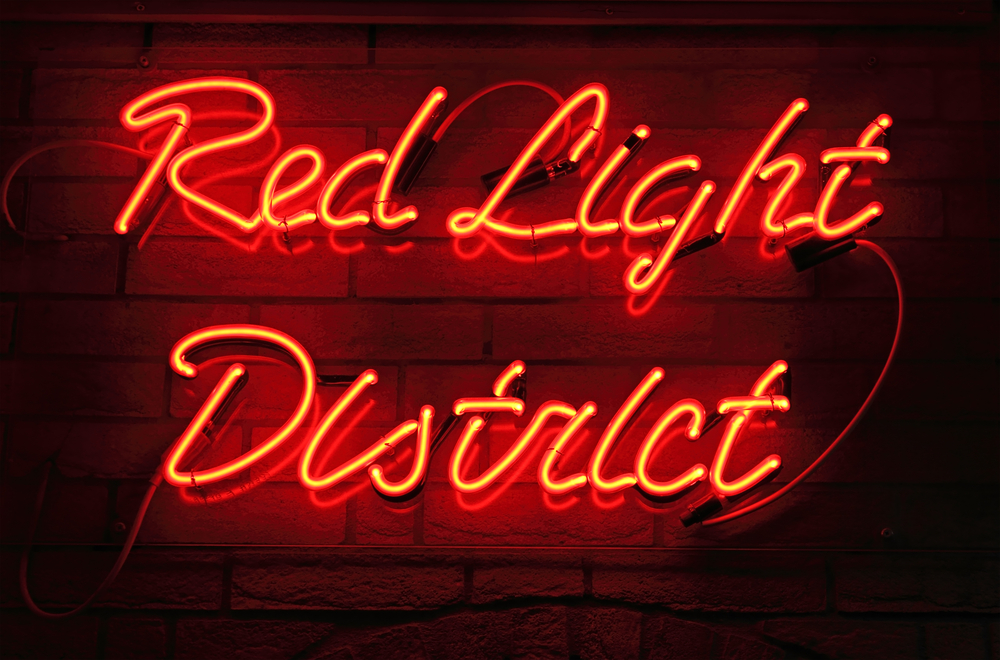 Amsterdams Red Light District er verdenskjent