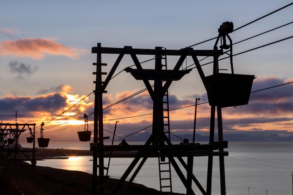 Svalbards historie som gruveby