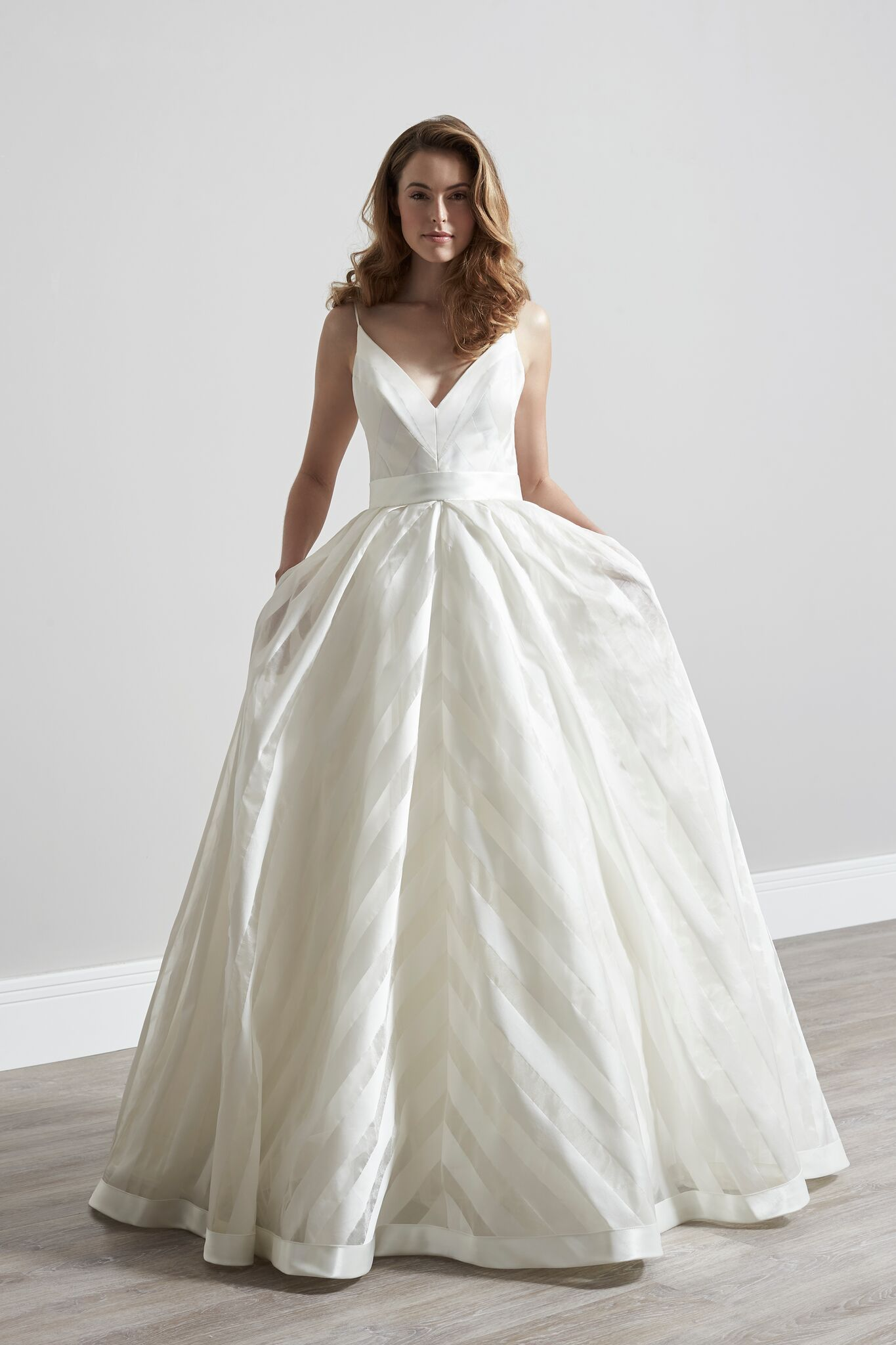 What advice would you give a bride to be? - The thing is that there is so much out there that it can be completely overwhelming. So do your research before you run around after all these dresses.You need to have a focal point and go to a boutique that really knows the dresses.Definitely get your dress from someone with amazing alterations. I only have my dresses hanging in shops that have impeccable alteration teams.