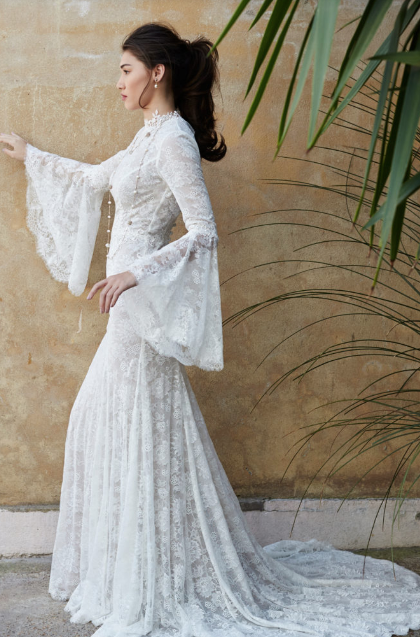 15 Beautiful Boho Wedding Dresses
