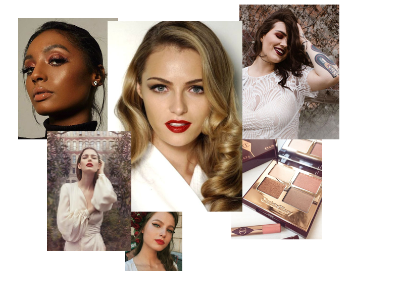 Viva la Vamp - Take inspiration from the autumn leaves and vamp up your bridal look with tones of red and orange.Not a fan of red lips, try a copper or rose with a gold smokey eye…..