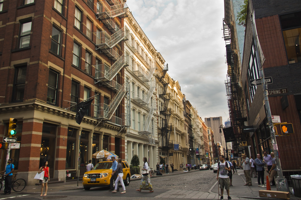 SoHo offers great food, shopping, and culture.  Photo Credits: Fuzzy Images