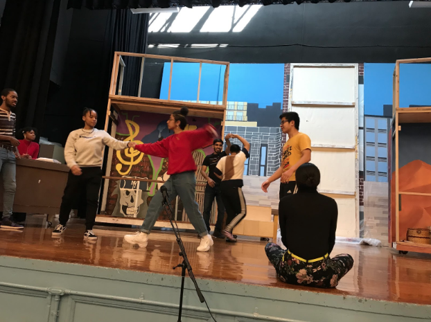 Drama students will perform  In the Heights  May 2-3.  Photo Credit: Ms. Liz Bommarito
