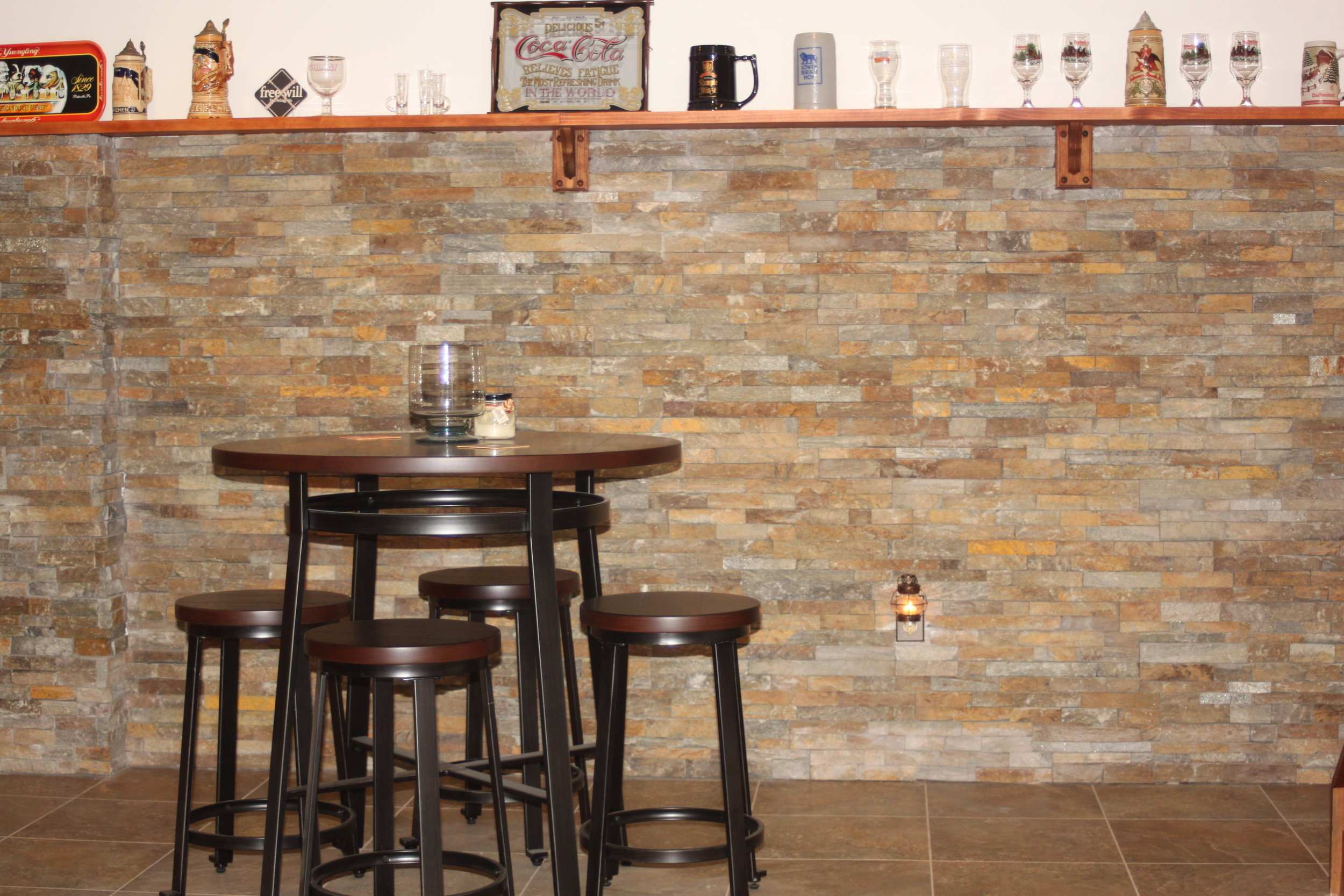 Ledgerstone Feature Wall