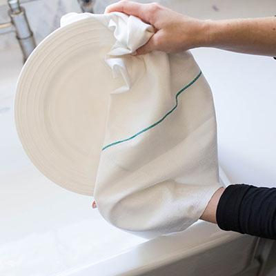 Osnaburg Dish Towel - 36 X 24 CS, 44 OZ. .