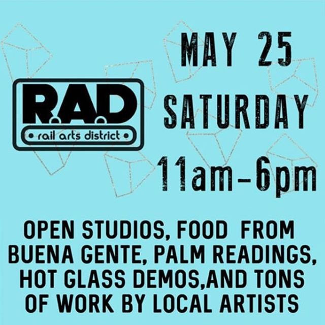 Hey Everyone.  Just a reminder that our RAD block party is coming up on this weekend on Saturday May 25 from 11am-6pm. If you'd like to try your hand at glassblowing during the block party click the link in our profile and head to our ticket office. . Art, food by @buenagenteatl, palm readings by @handfulofstars_readings, hot glass art and demos by @atlantahotglass, pottery and demonstrations by @mudfire and wellness by @seedtostarcollective . Lots of Pottery by  @creativeloo @mollymakescritters @cityinbloomceramics @mahathey.made @kaiceramics @daphneallyson @sepiper_studios @m.klapthor.robots . . . . #radblockparty #artparty #madeatmudfire #shoplocal #shopsmall #palmreading #thingstodoinatlanta #decaturart #exploreavondale #buenagenteatl #hotglass