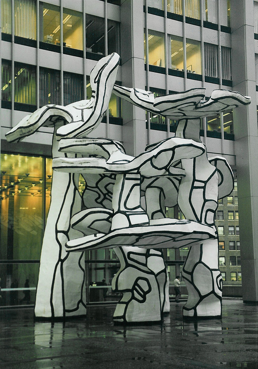 Jean Dubuffet's Group of Four Trees