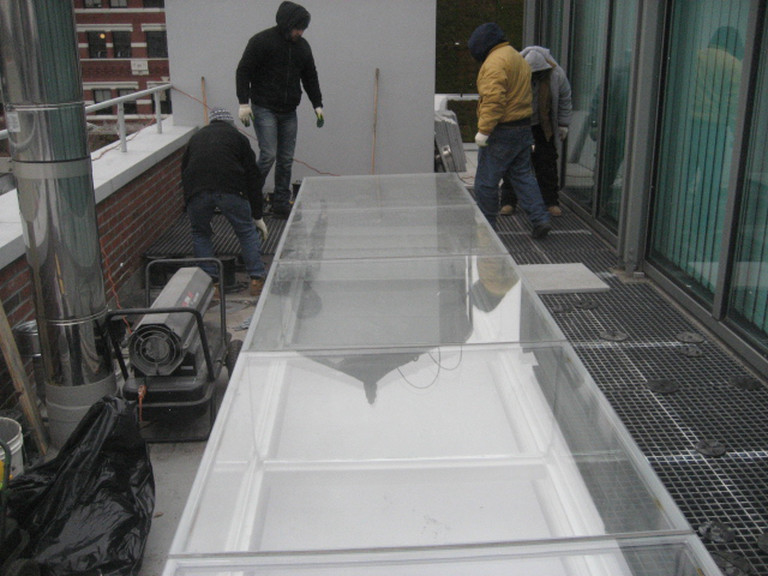 Skylight fabrication and installation, SOHO