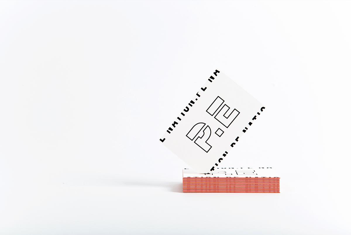 P.E. NATION BUSINESS CARD WITH ORANGE BOARD
