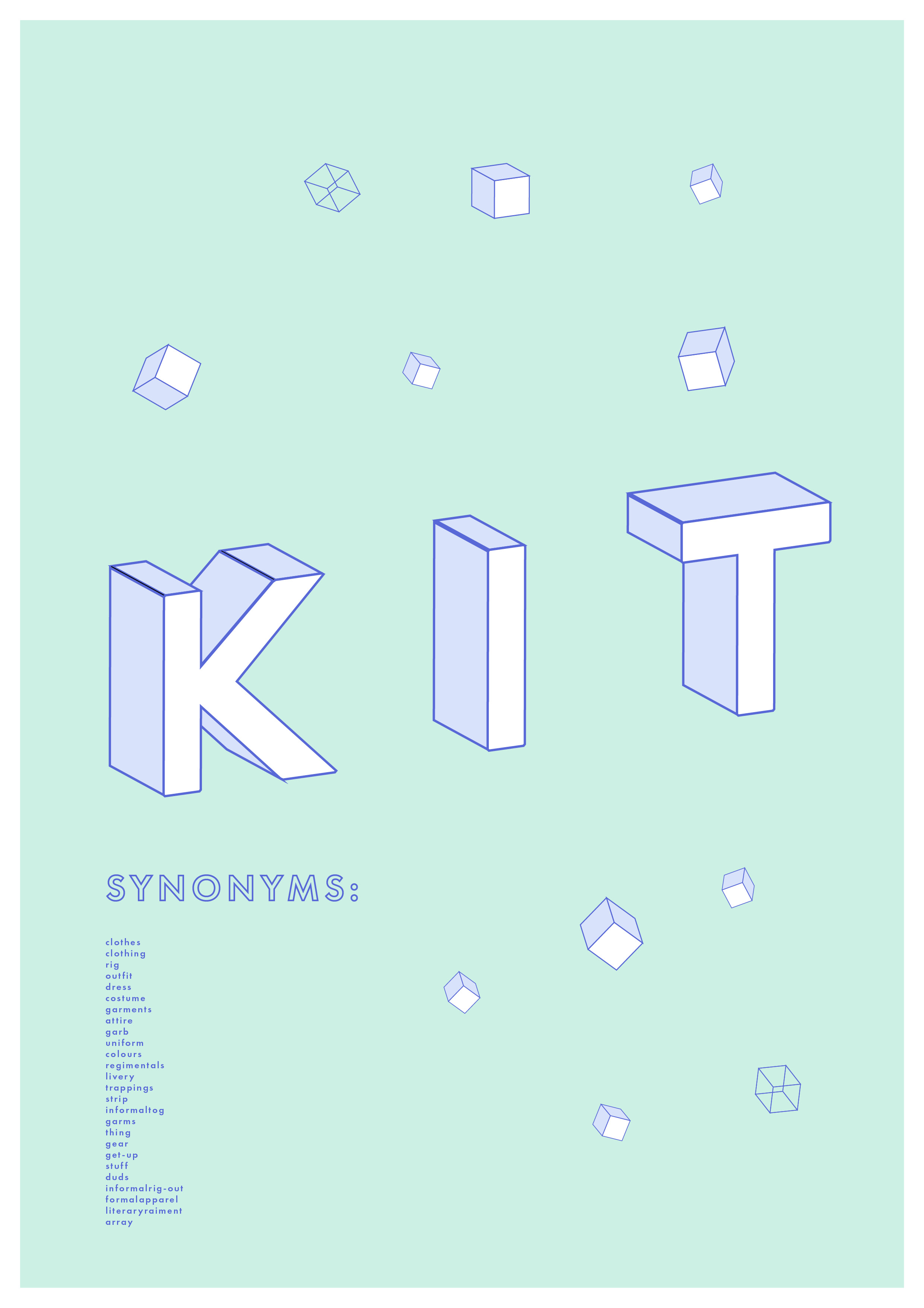 KIT typography Line and Dot
