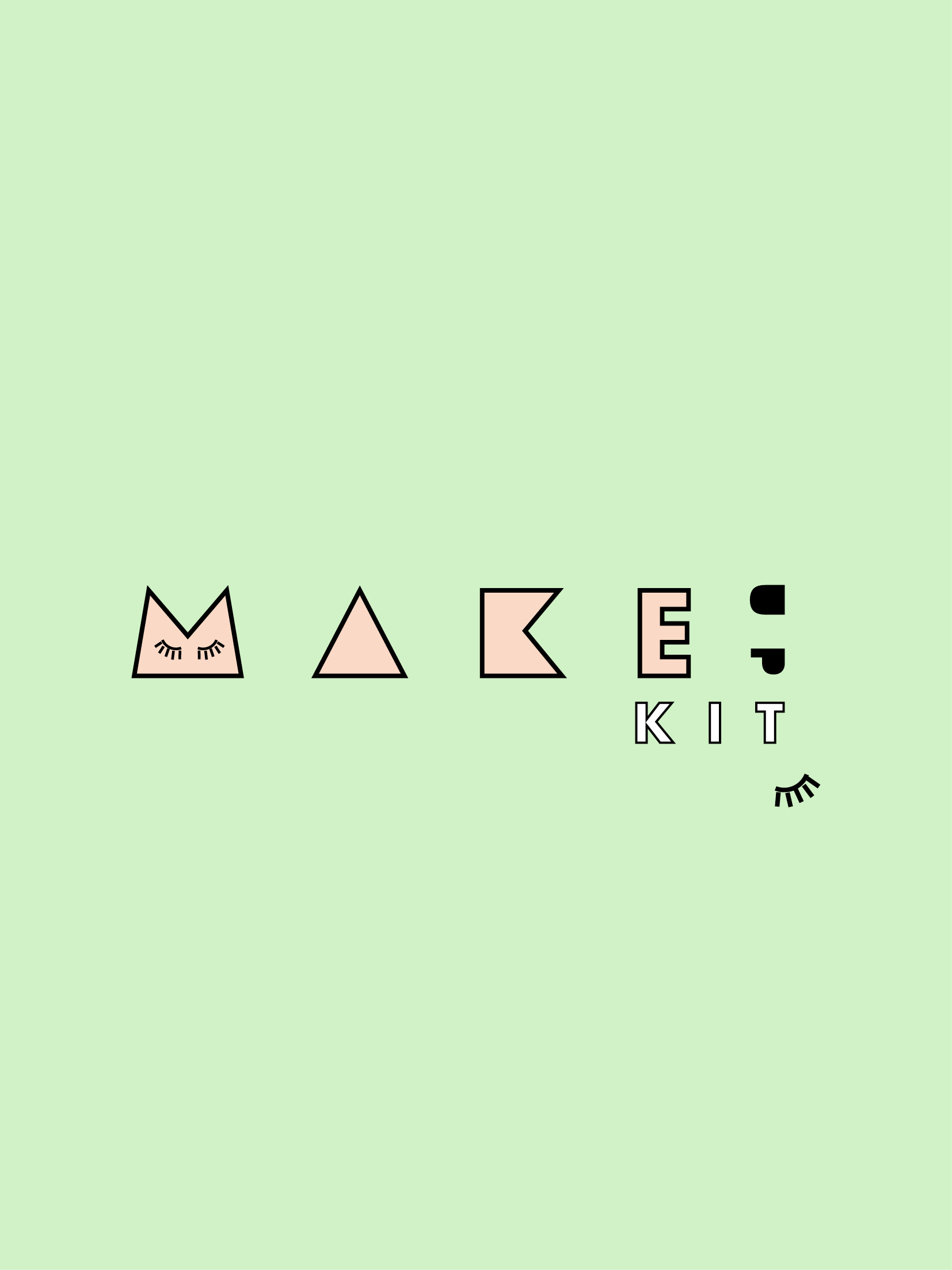 Make-up kit logo
