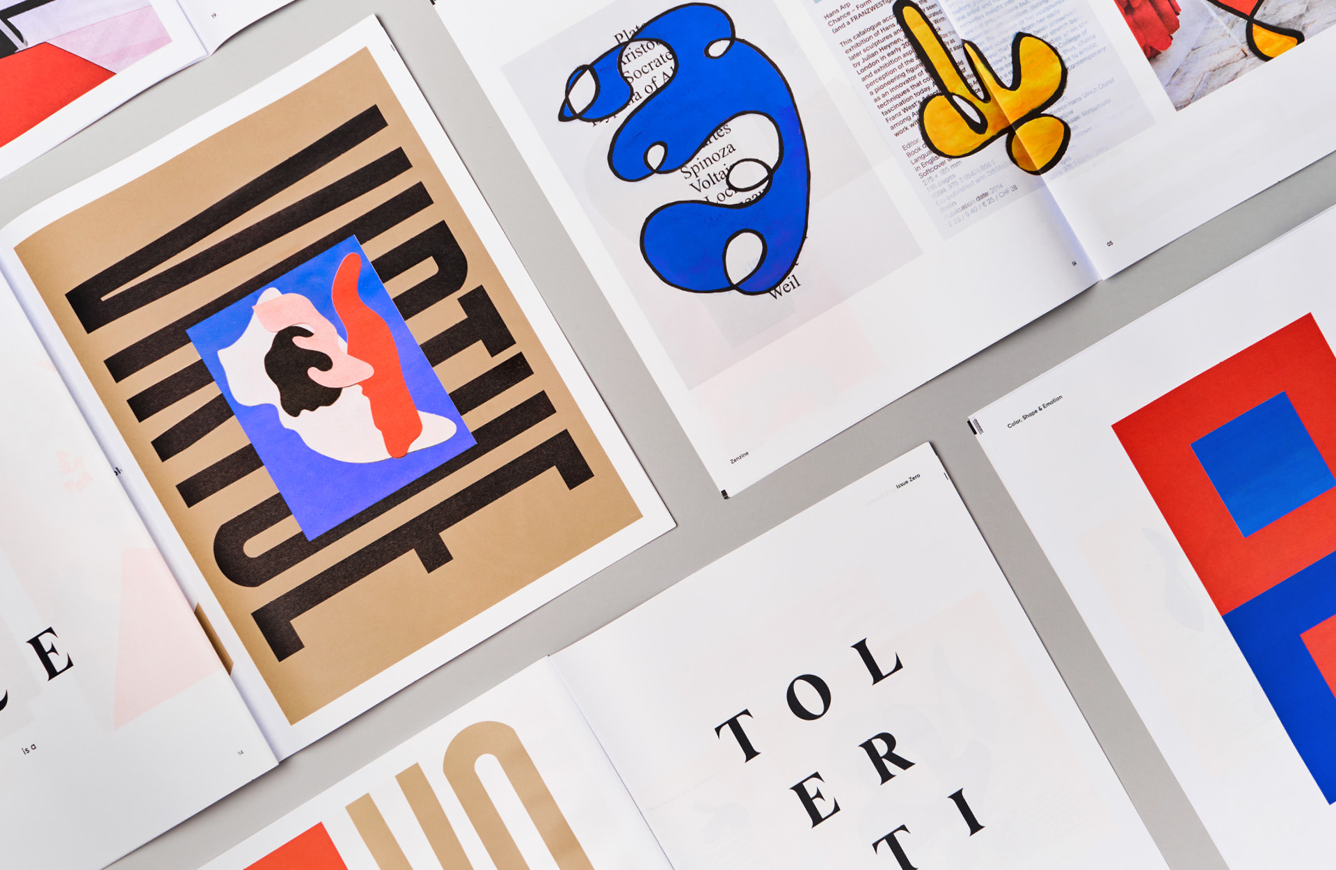 line and dot creative zines