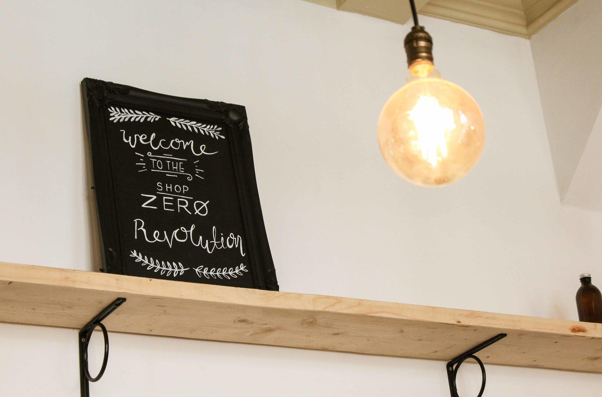 line and dot creative shop zero logo