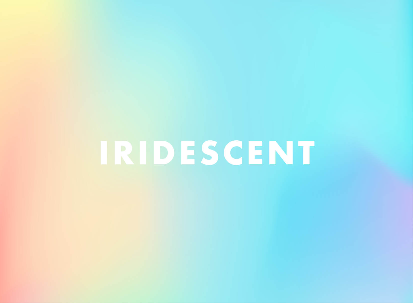 line and dot creative trend watch iridescent