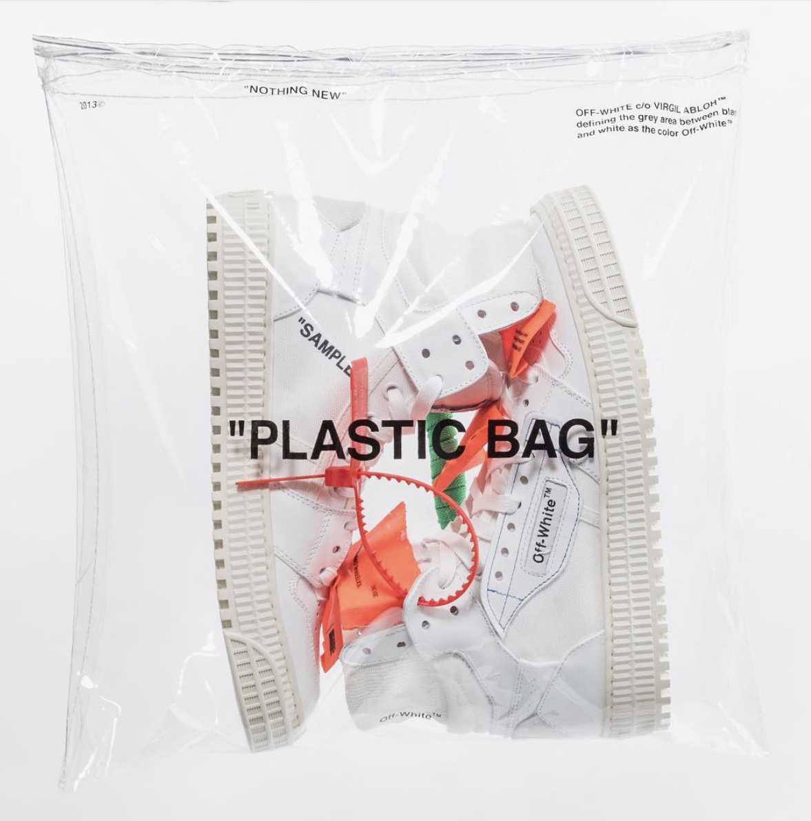 Off White shoes packaging
