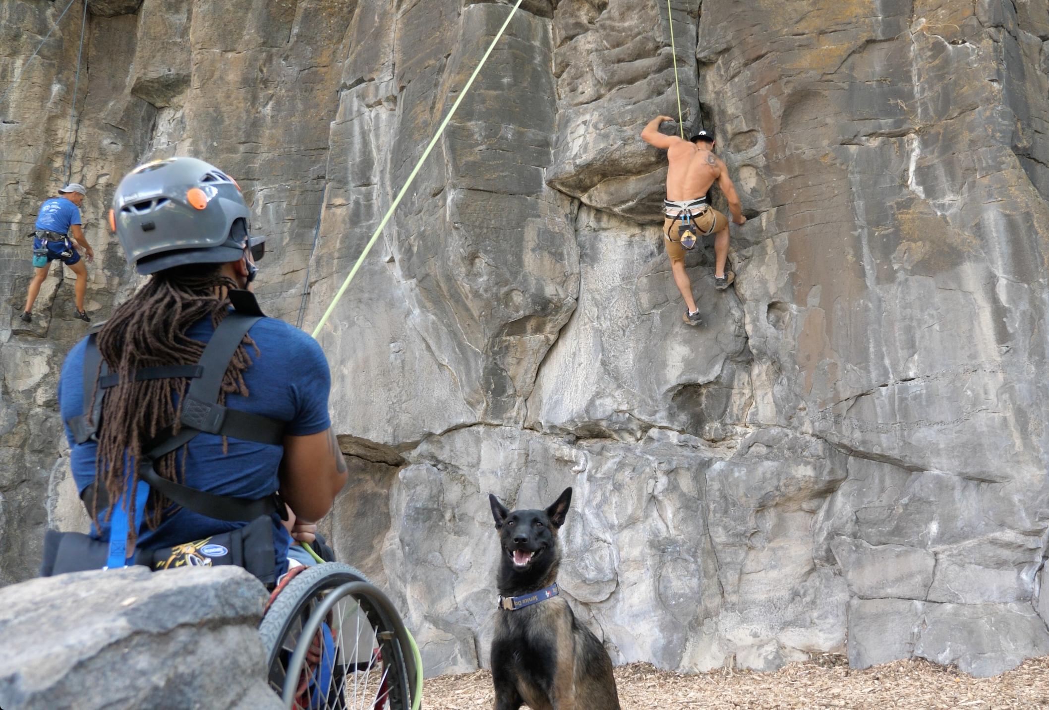 Rock climbing classes -