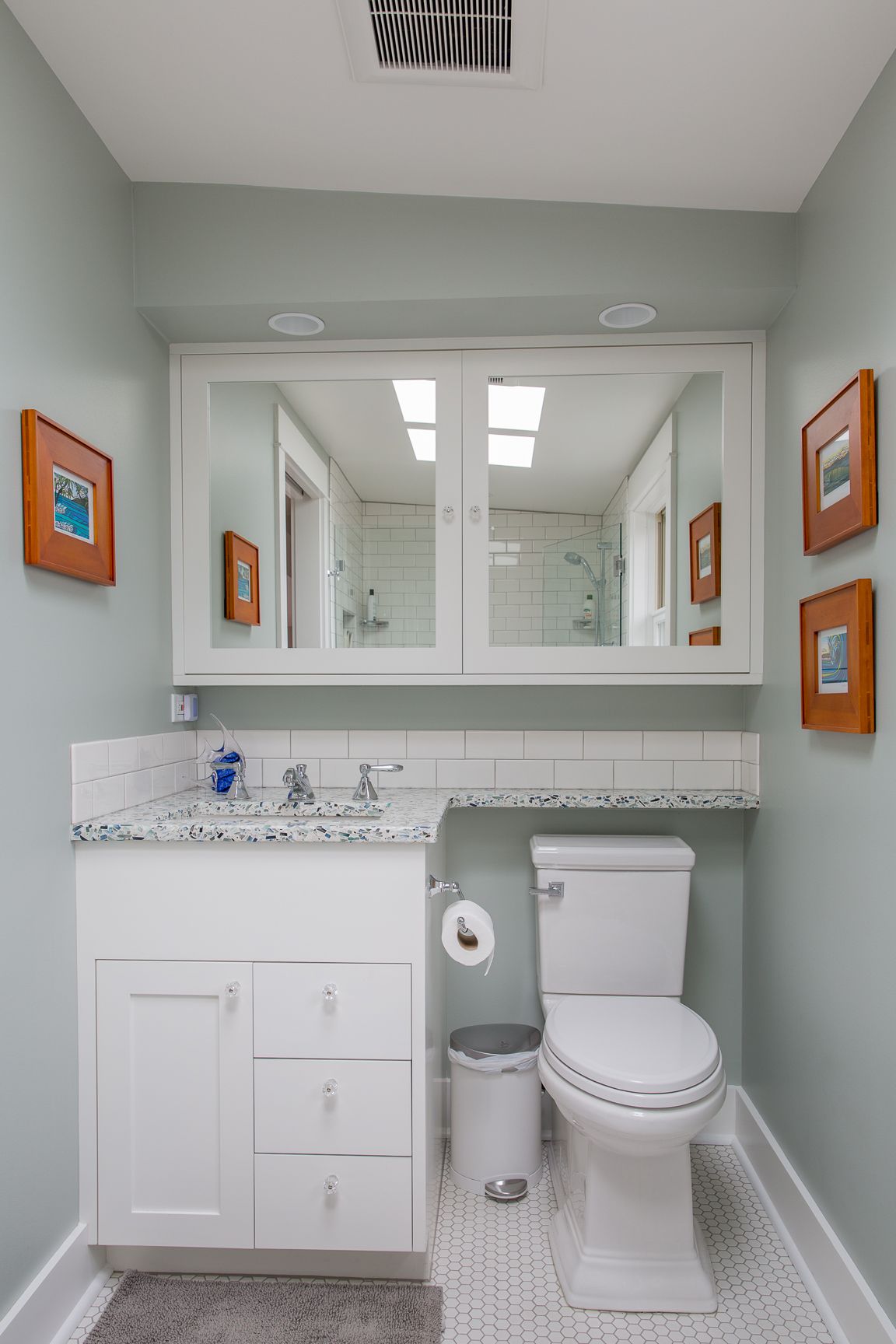 Master suite bathroom architecture