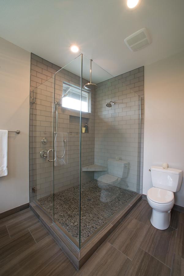 Bathroom shower architecture