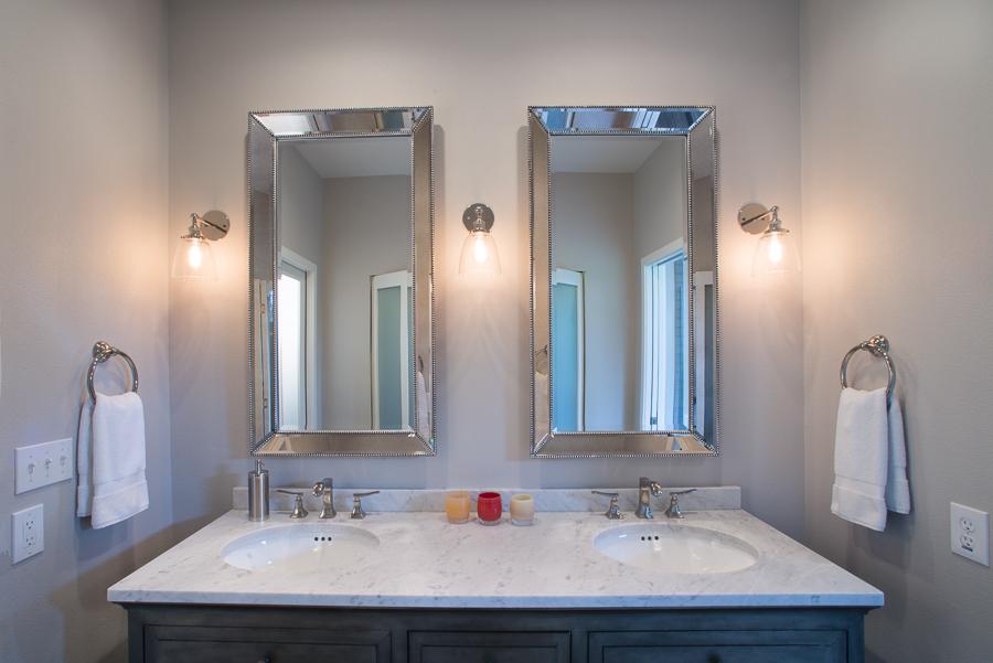 Bathroom sink architecture