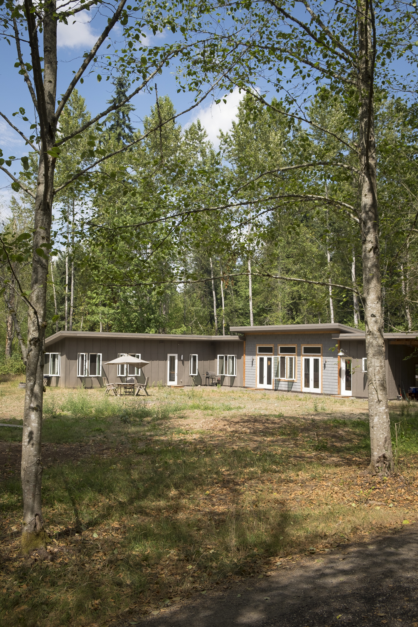 Accessible House in the Woods - Exterior