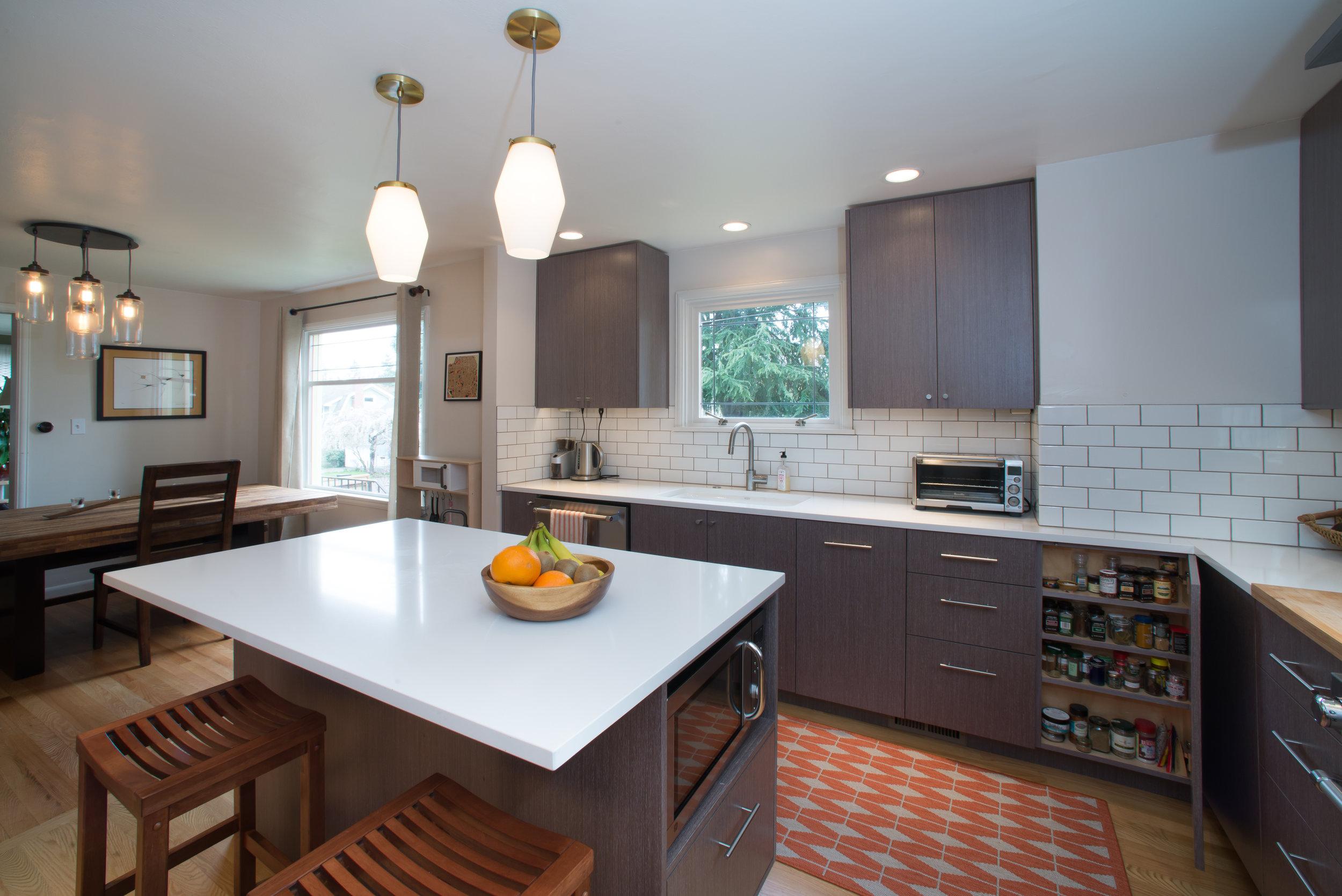 Small kitchen architecture
