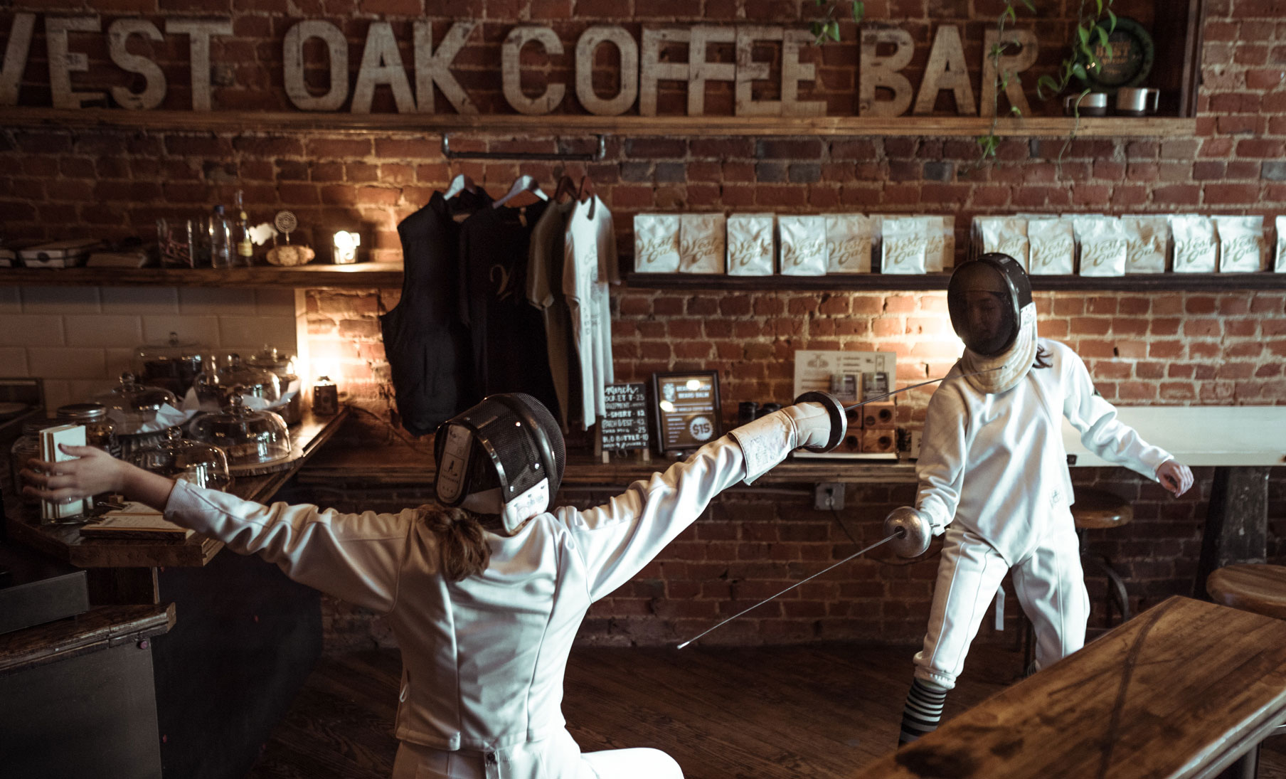 West Oak Coffee Denton Texas Hayhurst Brothers
