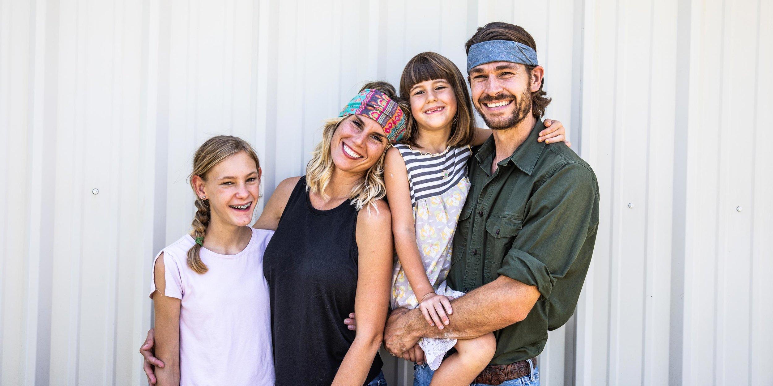 Jake Hayhurst Family